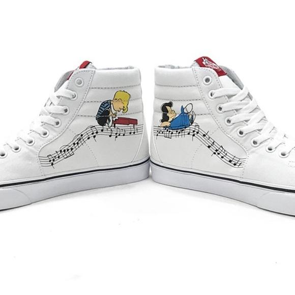 Vans Shoes | Peanuts Vans Schroeder And